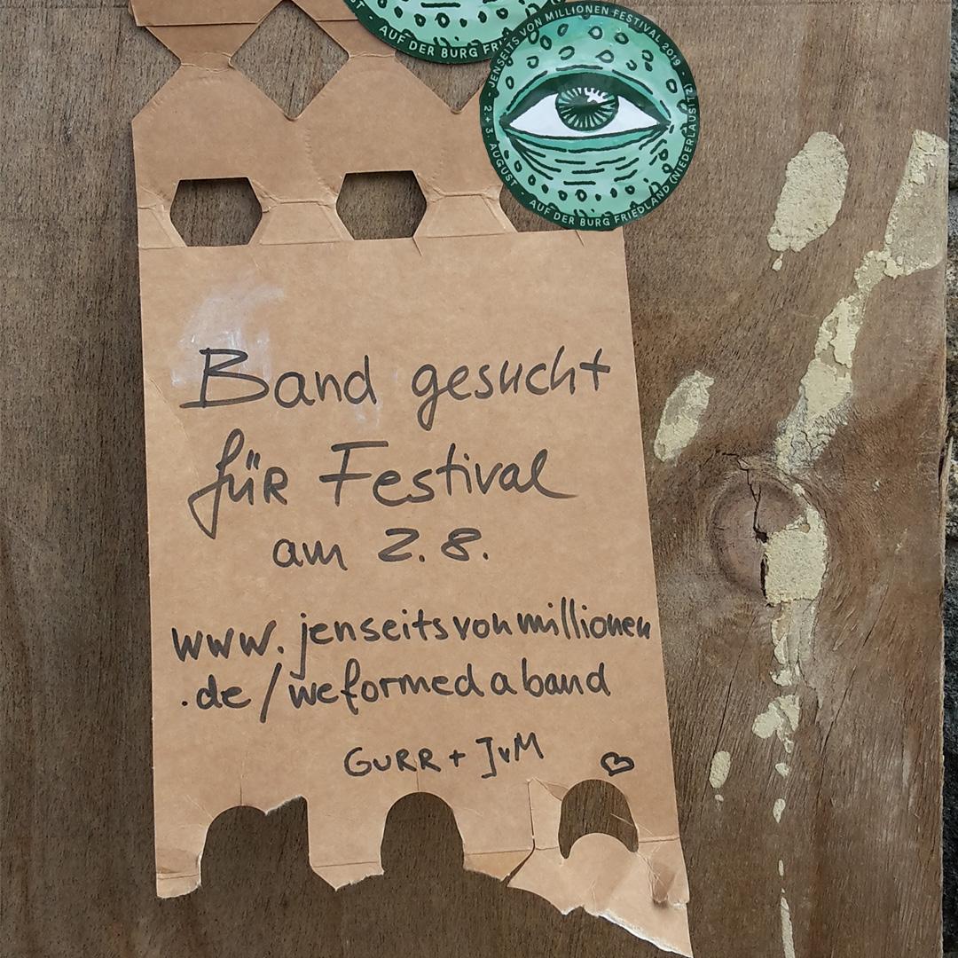 We formed a band @JenseitsvonMillionen